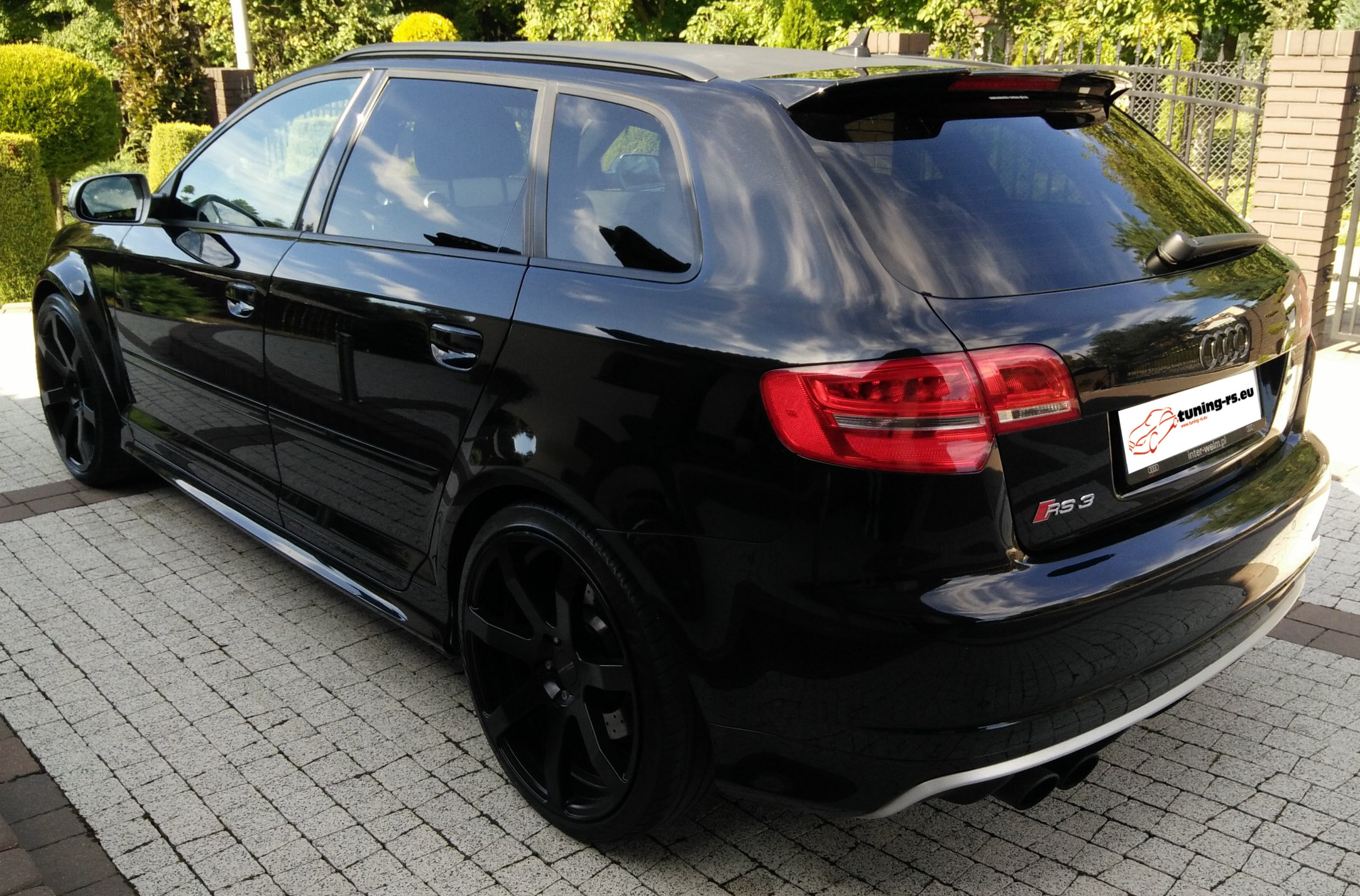 audi a3 8p sportback dachspoiler dachfl gel spoiler rs3. Black Bedroom Furniture Sets. Home Design Ideas