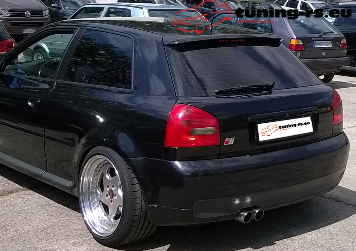 audi a3 8l dachspoiler spoiler s line tuning. Black Bedroom Furniture Sets. Home Design Ideas